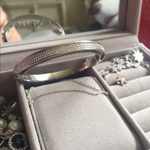 vita fede mini bumper crystal bracelet xs